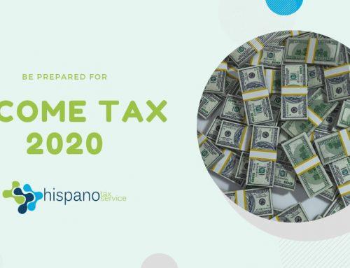 Be Prepared For Income Tax 2020