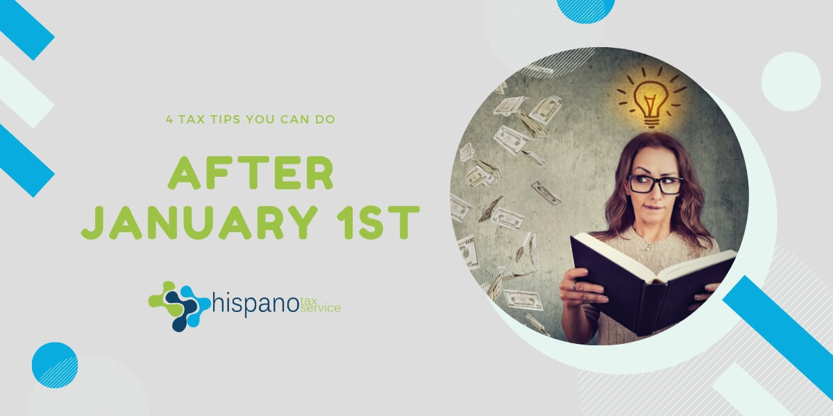 4 tax tips for 2020 - Hispano Tax Service - PTax Preparation and Representation before the IRS