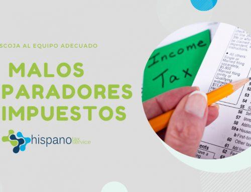 Preparadores de Impuestos Inescrupulosos